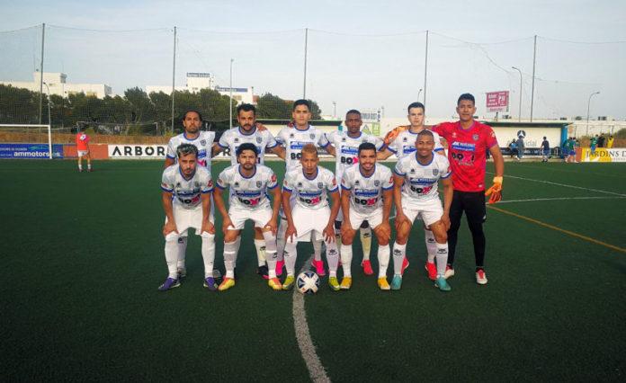 Once del BSF FC ante el Espanya en Son Oliva